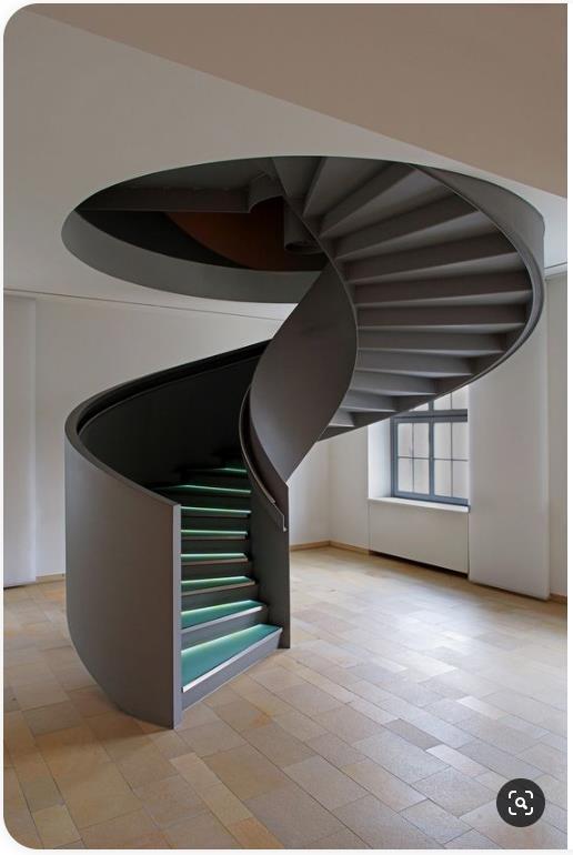 SketchUp草图大师创建室内旋转楼梯02