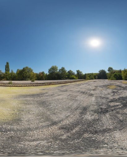 Abandoned Hopper Terminal 04 HDRI