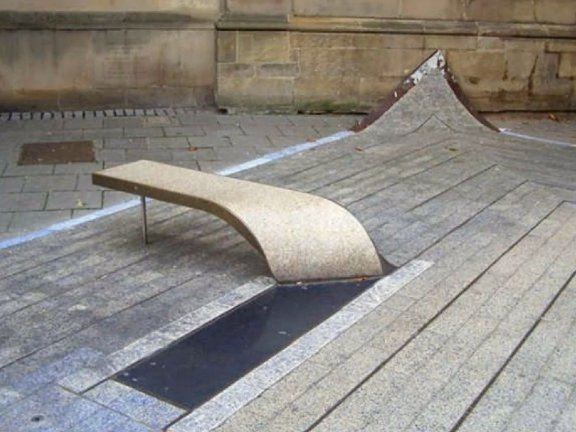 SketchUp草图大师景观扭曲室外座凳