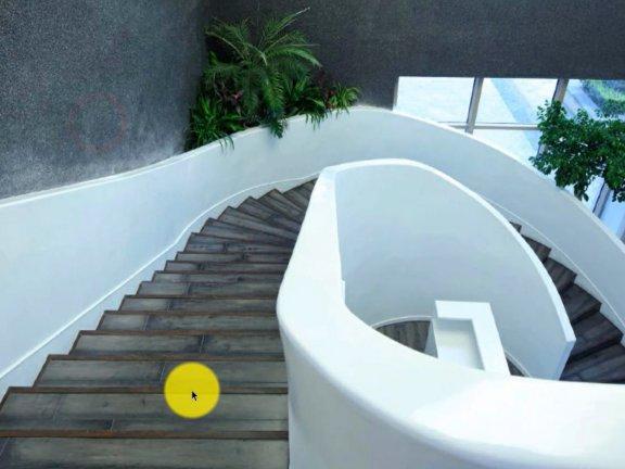 SketchUp草图大师创建室内弧形楼梯03