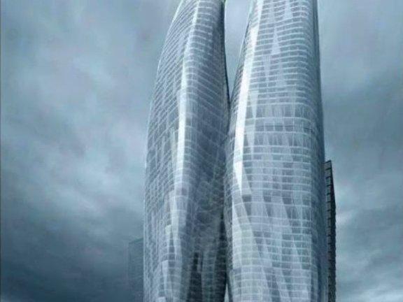 SketchUp草图大师创建建筑异形曲面建筑
