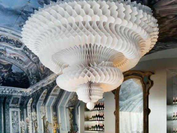第012期:SketchUp创建室内酒店婚礼吊顶装饰