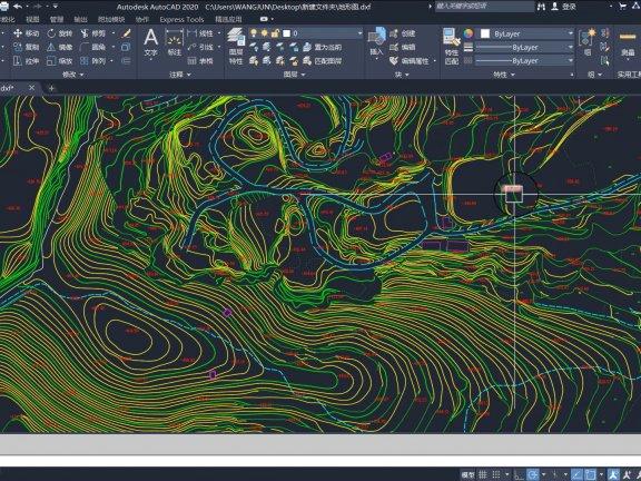 SketchUp草图大师结合CAD高程点创建地形